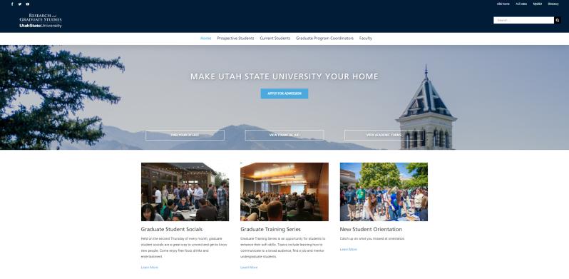 USU School of Graduate Studies Homepage