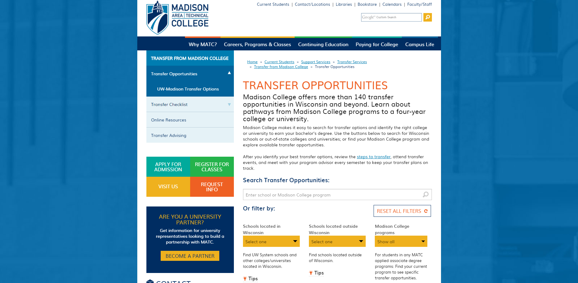 Madison College Transfer Opportunities